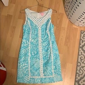 Blue lily pulitzer dress
